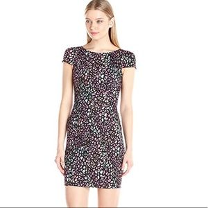 NWT French Connection $168 Electric Leopard Dress